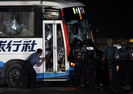 Захват автобуса в Маниле