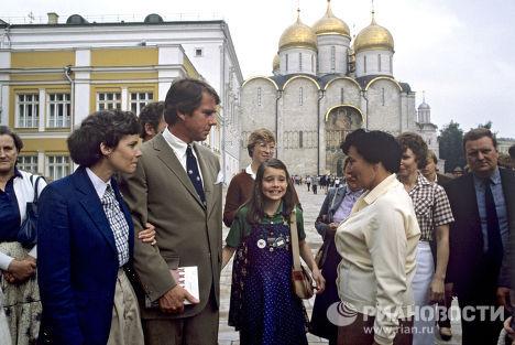 Саманта Смит на Соборной площади