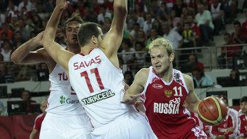 6b4b0c32 Сборная России по баскетболу проиграла команде Турции   Фото ...