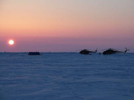 """Ледовая база """"Барнео"""" в Арктике"""