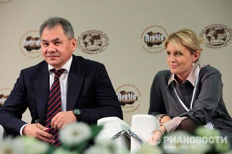 Сергей Шойгу и Светлана Миронюк