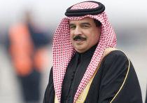 Король Бахрейна прибыл в Россию