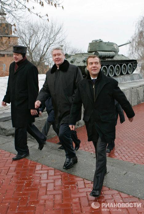 Д.Медведев Нижний Новгород