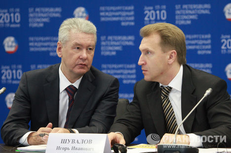 Сергей Собянин, Игорь Шувалов