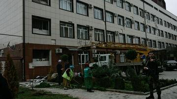 Попытка теракта у здания парламента Чечни в Грозном