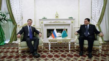 Рабочий визит Дмитрия Медведева в Туркменистан. Второй день