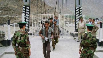 граница таджикистана и афганистана