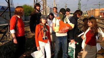 Активисты арт-группы «Война»