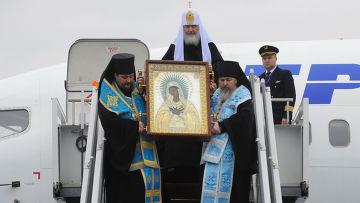 Патриарх Московский и всея Руси Кирилл прибыл в Киев