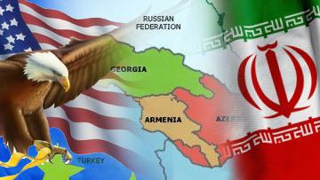 Азербайджан, Армения и Грузия зажаты между Тегераном и Вашингтоном