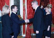 Официальный визит президента Латвии в Россию