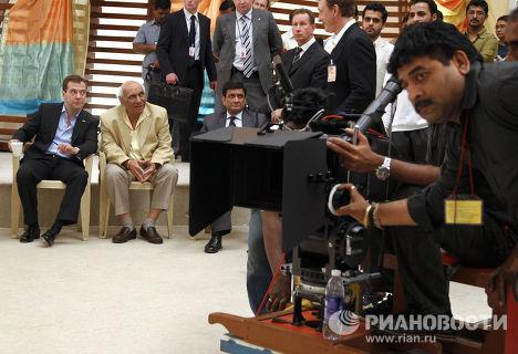 Официальный визит Д.Медведева в Индию. День второй