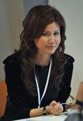 """Анна Чапман на форуме """"Россия, вперед!"""" в """"Сколково"""""""