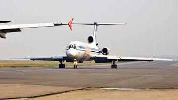 """Самолет Ту-154 б-2 авиакомпании """"Кавминводы-авиа"""""""