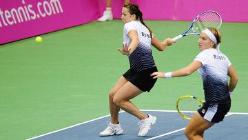 Анастасия Павлюченкова и Светлана Кузнецова
