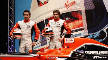 Автоспорт. Презентация болида команды Marussia Virgin Racing