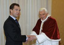 Д.Медведев с визитом в Ватикане