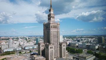 Дворец культуры и науки в Польше
