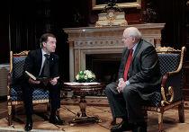 Встреча Дмитрия Медведева и Михаила Горбачева