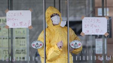 изолятор для людей, находившихся в радиусе радиактивного поражения после взрува на аэс фукусима