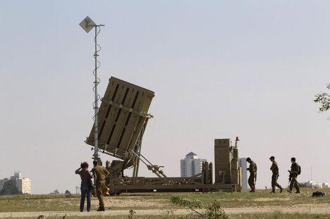 Израиль размещает свою самую продвинутую систему защиты от ракетных - «Железный купол»