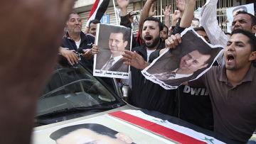 Сотни тысяч сторонников президента Сирии Башара Асада вышли 29 марта на улицы Дамаска
