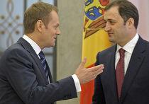 по приглашению Владимира Филата, Кишинев посетил премьер-министр Польши Дональд Туск