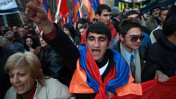 Оппозиционные настроения в Армении