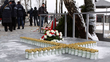 Годовщина авиакатастрофы под Смоленском