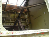Российский космический шатл Буран разрушается в ангаре на Байконуре