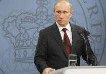 В.Путин прибыл с однодневным визитом в Данию