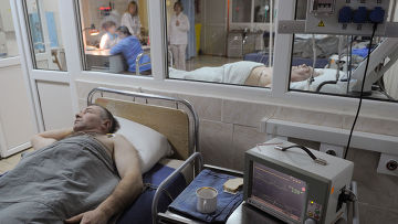 Пациент в Ивановской областной клинической больнице