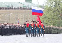 Военный парад, посвященный 66-летию Победы в ВОВ