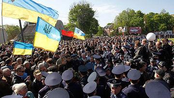 # 9 мая во Львове произошли беспорядки и столкновения