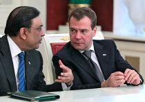 Д.Медведев принял в Кремле А.Зардари