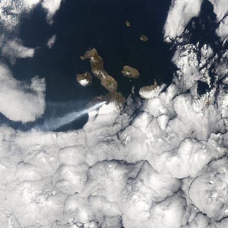 Сьерра Негра - активный вулкан на острове Исабела (Галапагосские острова)