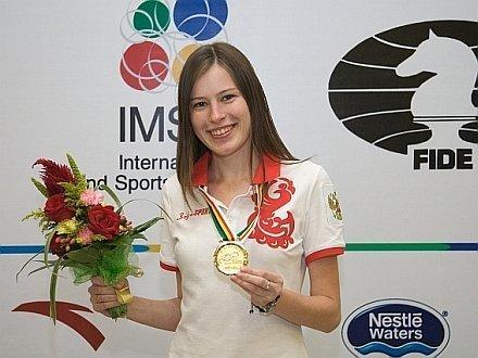шахматистка Наталья Погонина