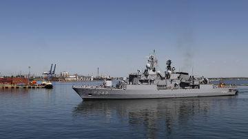 Международные военно-морских учения Sea Breeze в Одессе
