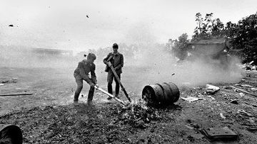 Как советские солдаты уходили из Чехословакии