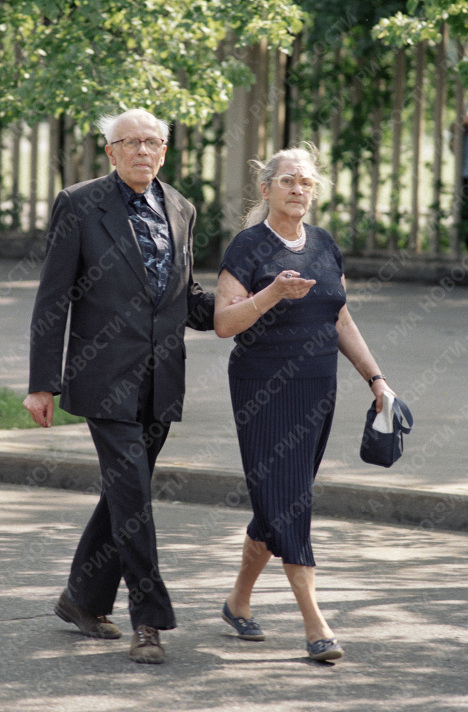 Андрей Сахаров и Елена Боннер