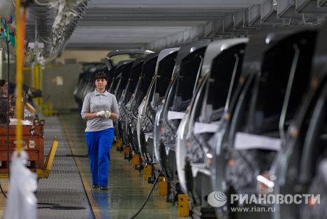 Работа завода ОАО «АвтоВАЗ» в Тольятти