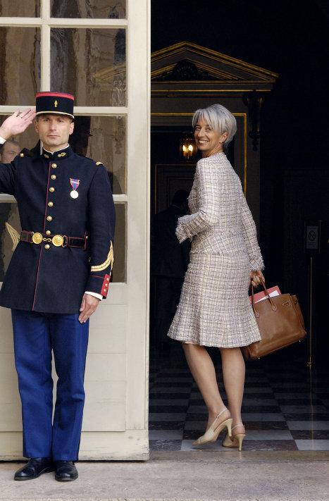 Министр финансов Франции Кристин Лагард избрана главой МВФ