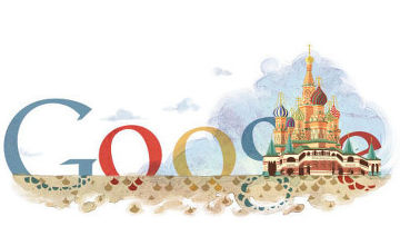 логотип google собор василия блаженного
