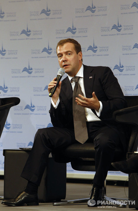 Визит президента РФ Д. Медведева в Ганновер. День второй