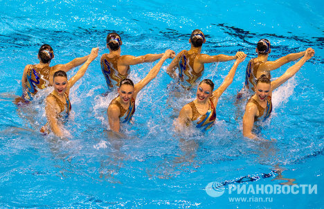 Cборная России по синхронному плаванию