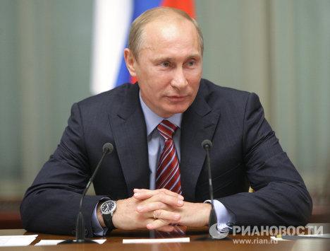 Встреча Владимира Путина с членами экспертного совета