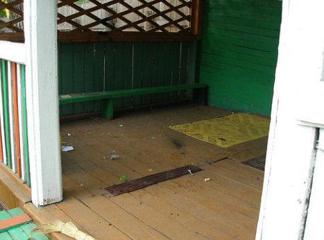 Место взрыва в детском саду Комсомольска-на-Амуре