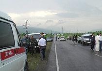 Террорист-смертник подорвался на посту милиции в Ингушетии