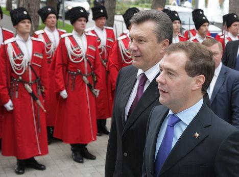 Рабочая поездка Д.Медведева в Геленджик