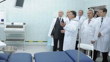Рабочая поездка В.Путина в Смоленск